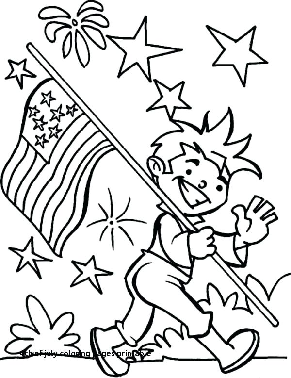 600x779 July Coloring Pages Of Coloring Pages With Eagle And Flag Fourth