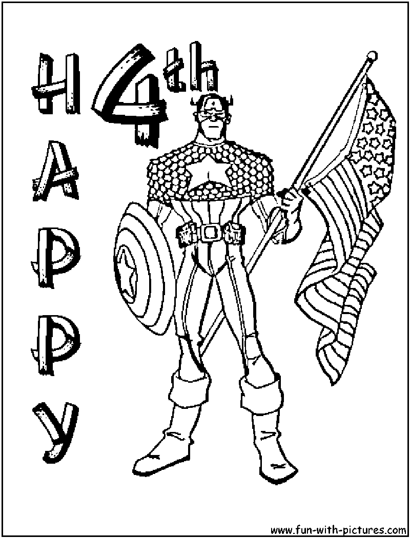 800x1050 Helpful Free Fourth Of July Coloring Pages Sur