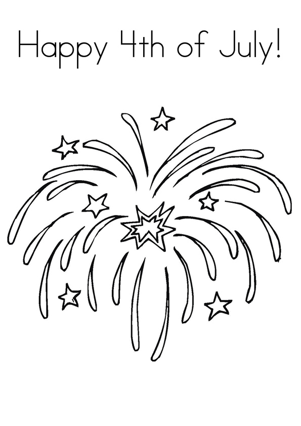 595x842 Happy Of July Coloring Pages