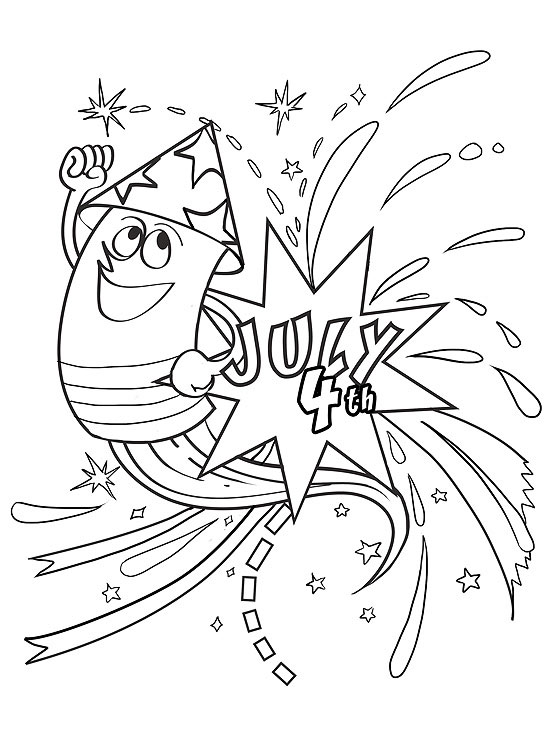 550x733 Printable Summer Coloring Pages