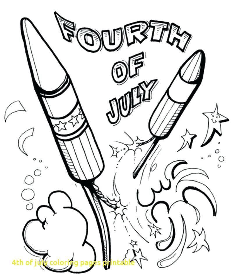 797x960 Of July Coloring Pages Printable With Fourth July Coloring
