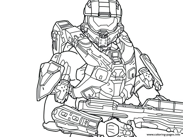 736x552 Halo Coloring Page Best Halo Reach Coloring Pages Images