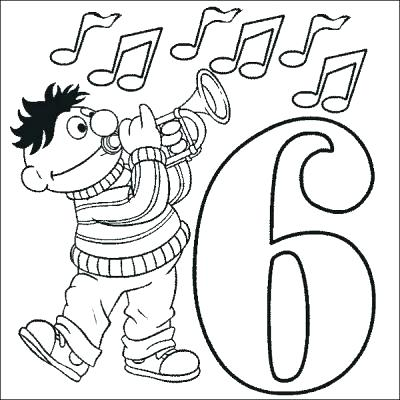 400x400 Number Coloring Page Number Coloring Page Number Coloring