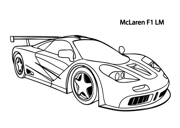 600x428 Coloring Pages Of Cars