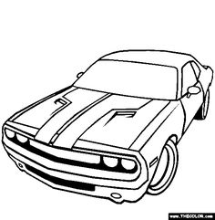 236x241 Drawn Car Challenger