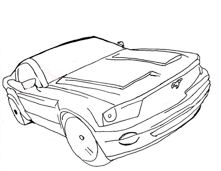 735x568 Best Coloring Pages Images On Cars Motorcycles