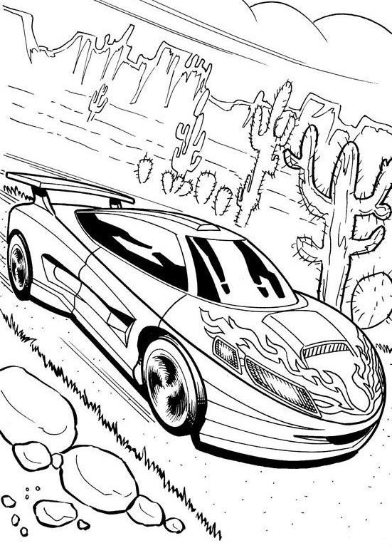 551x769 Printable Mustang Coloring Pages Me