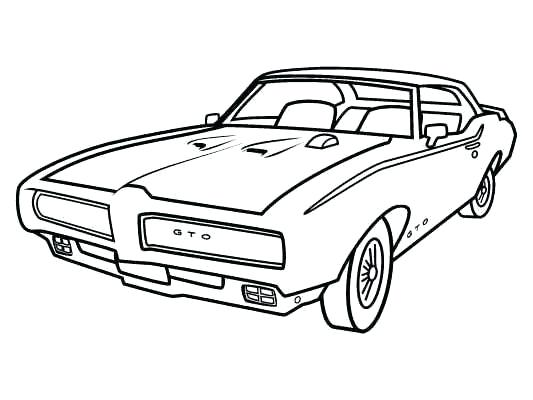 533x400 Realistic Muscle Car Coloring Pages Dodge Charger Coloring Pages