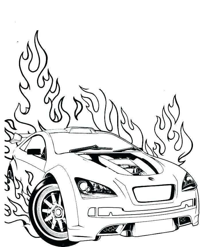 700x860 Camaro Coloring Page