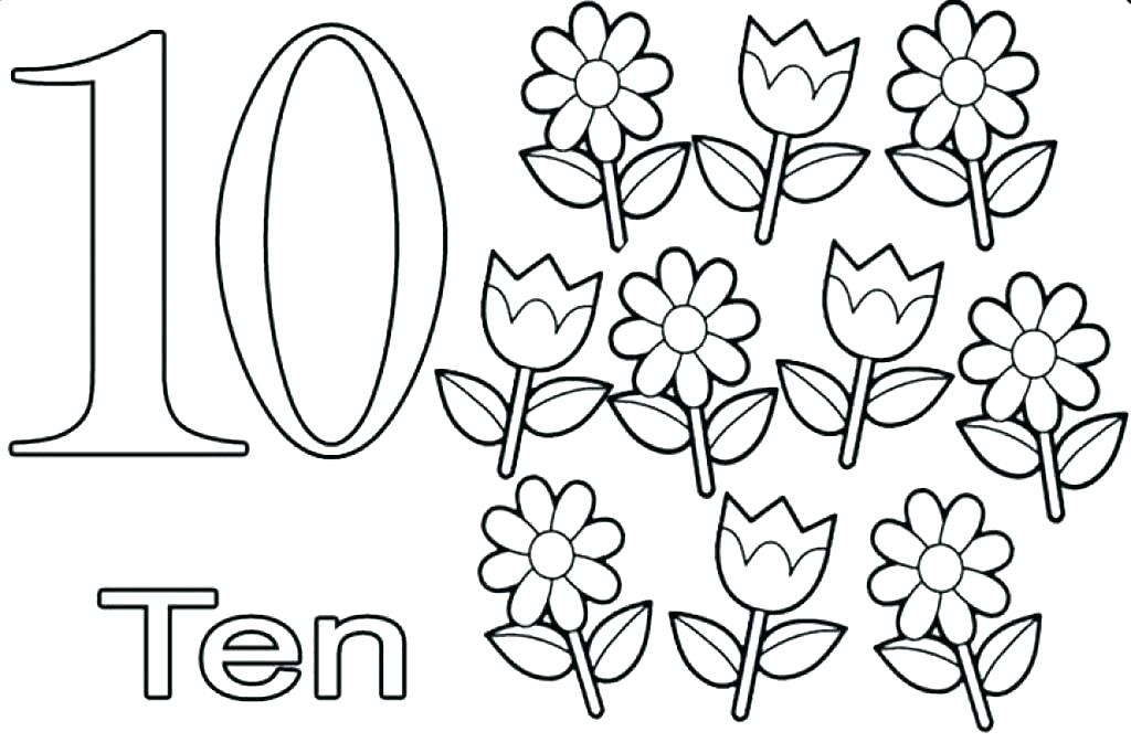 1024x682 Number Coloring Page Numbers Coloring Pages Number Coloring