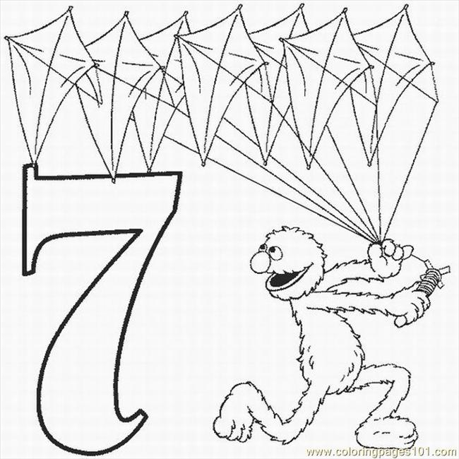 650x650 Numbers Coloring Pages Lrg Coloring Page