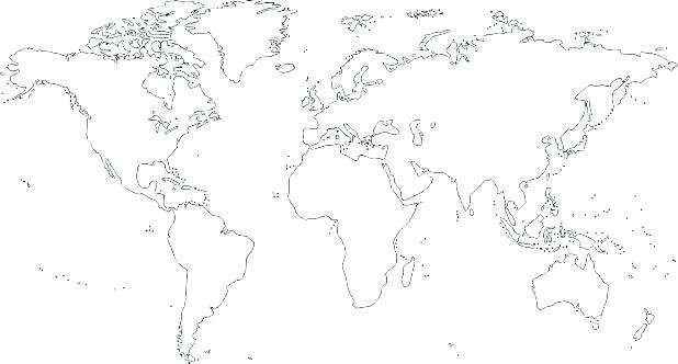7 Continents Coloring Page At Getdrawings Com Free For