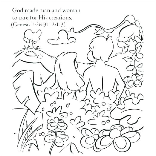 522x522 Days Of Creation Coloring Pages