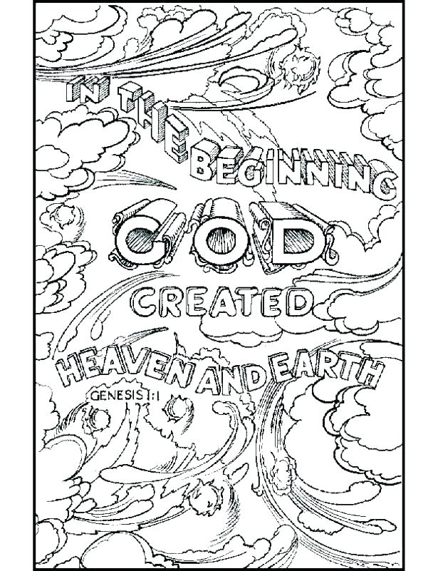 615x801 Creation Coloring Pages Coloring Pages Days Of Creation Creation