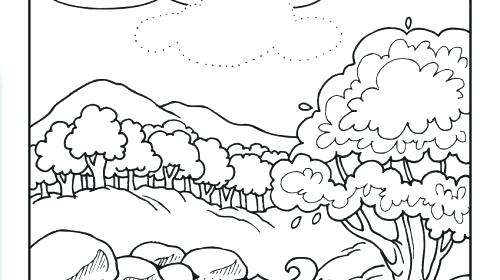 500x280 Days Of Creation Coloring Pages Creation Coloring Pages