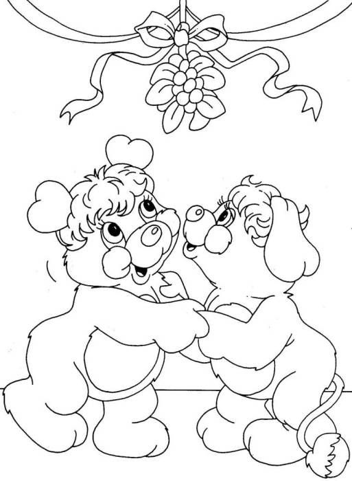 Happy Popples Coloring Page To Print - Coloring Home | 700x513