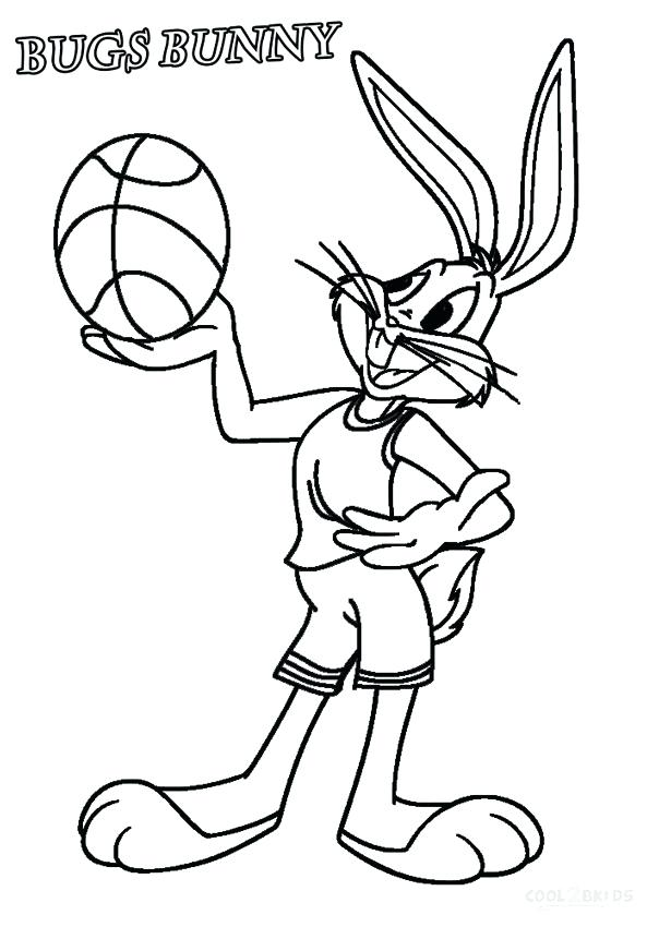 604x850 Cartoons Coloring Pages Printable Bugs Bunny Coloring Pages