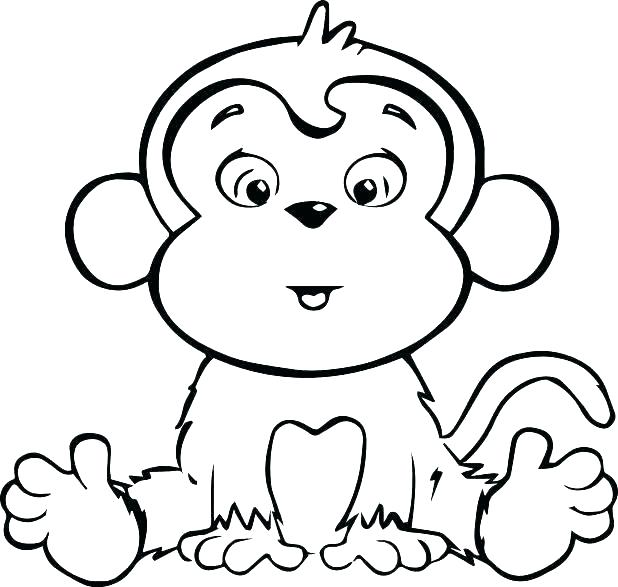 618x587 Cute Cartoon Characters Coloring Pages Free Character To Print