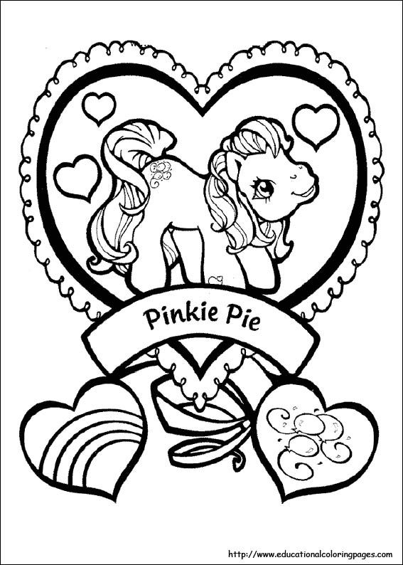 567x794 My Little Pony Coloring Pages Free For Kids Crafty