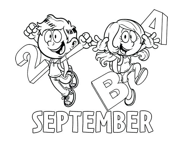 600x470 September Coloring Pages Memorial Coloring Page September