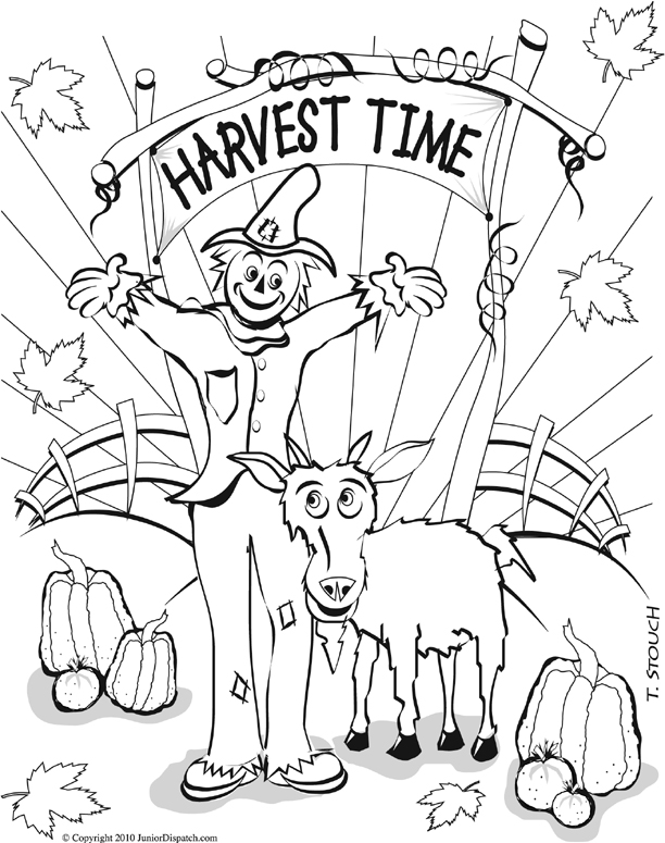 612x775 September Coloring Pages