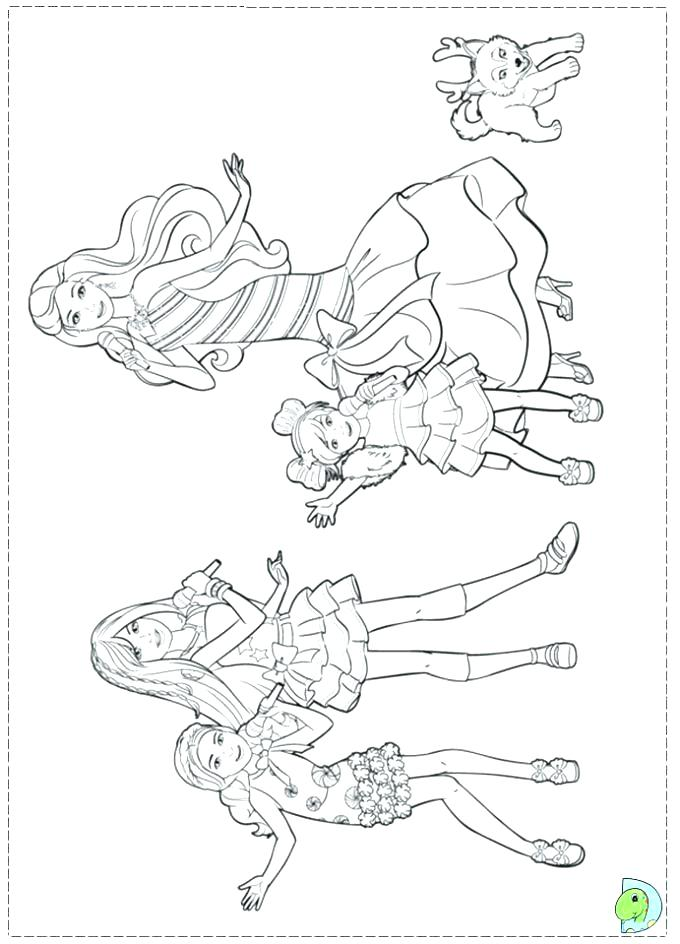 680x944 A Christmas Carol Coloring Pages To Print Barbie Doll Regarding