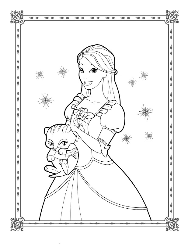 618x800 Barbie In A Christmas Carol Coloring Pages Coloring Pages Gallery