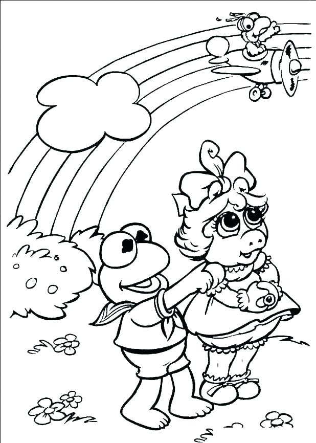 618x866 Muppet Christmas Carol Colouring Pages Coloring Index Babies Baby