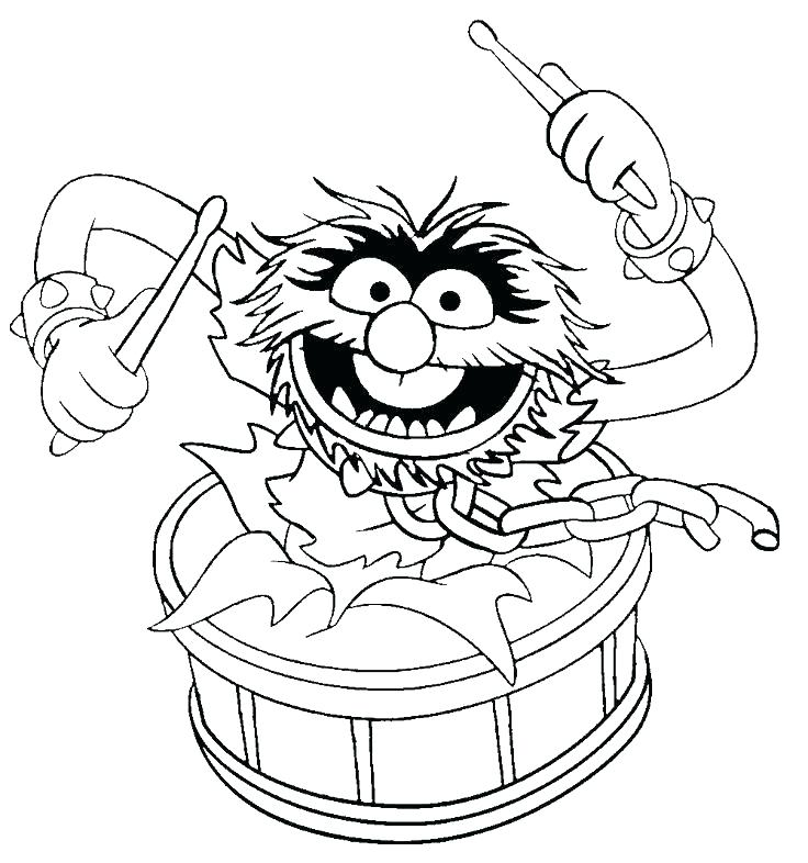 736x786 Muppet Coloring Pages Babies Coloring Picture Muppet Christmas