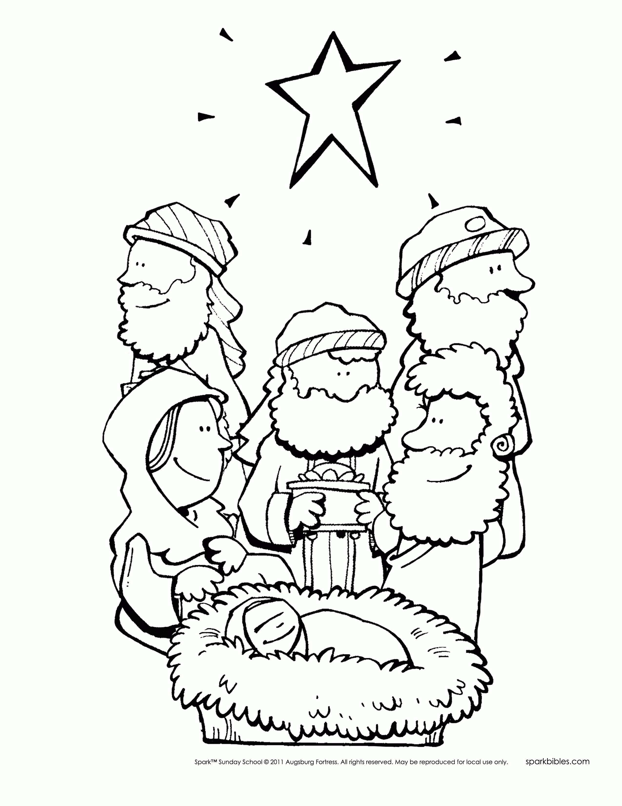 photograph regarding Free Printable Christmas Story called A Xmas Tale Coloring Webpages at  Absolutely free