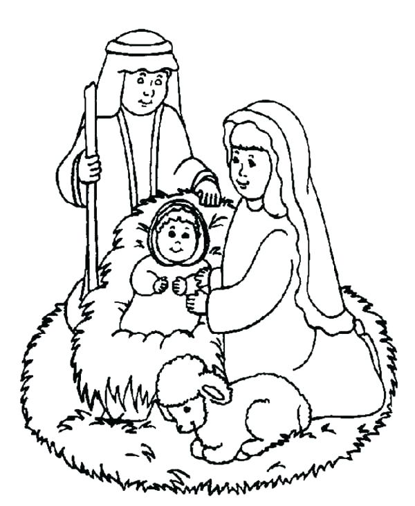 600x732 Christmas Story Coloring Pages Story Coloring Pages Story Coloring