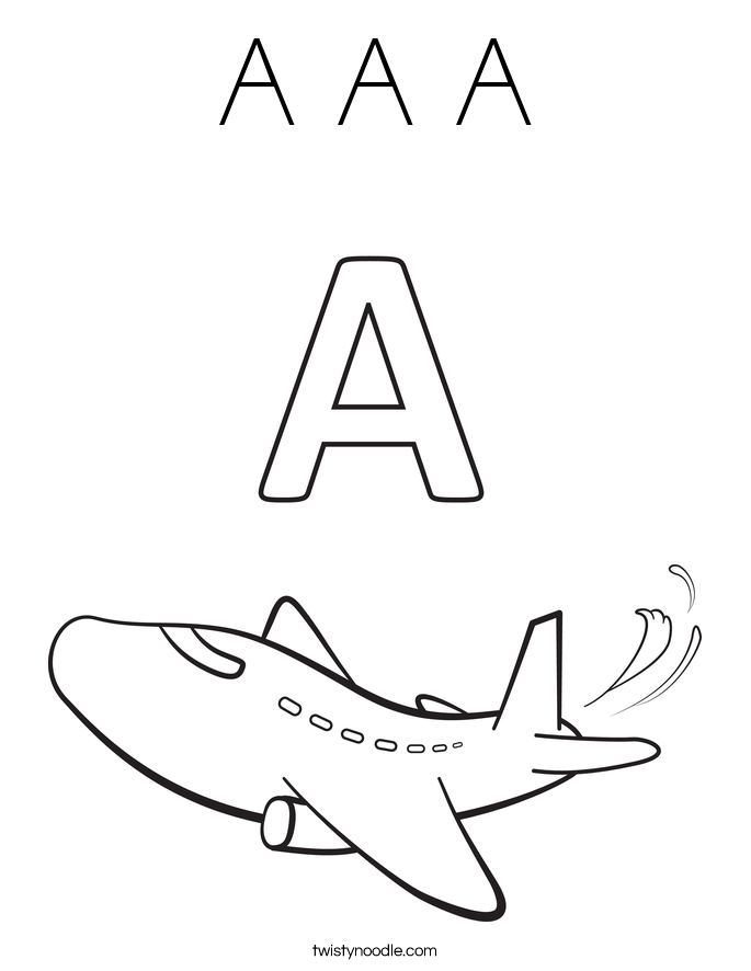 685x886 Airplane Coloring Page Letter