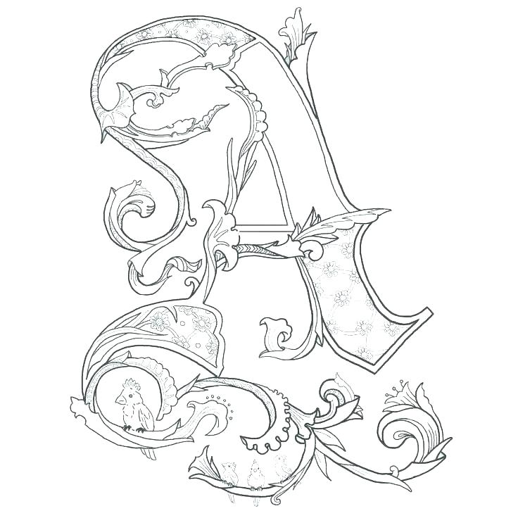 736x736 Letter Coloring Pages Printable Letter A Coloring Page Letter L