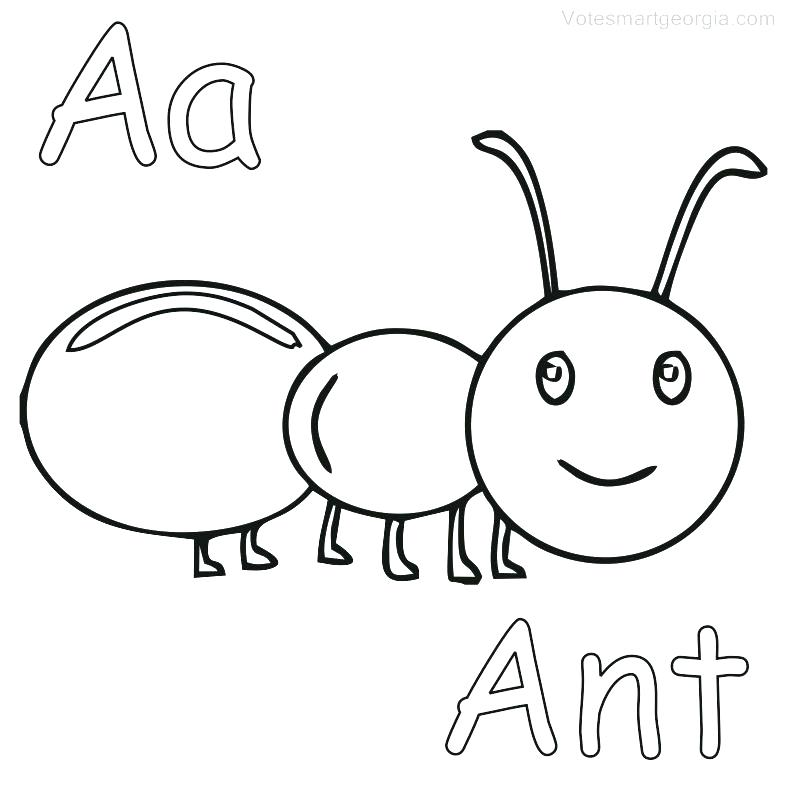 787x787 Coloring Pages Of Ants Simple Ideas Ant Coloring Page Ant Coloring