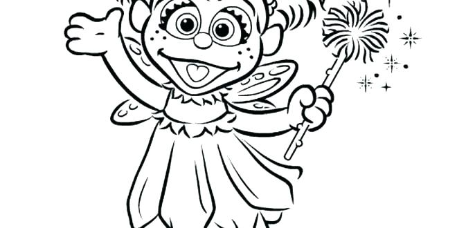 660x330 Abby Cadabby Coloring Pages Sesame Street Pictures To Color Free