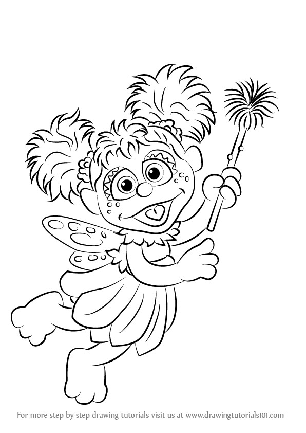 Abby Cadabby Coloring Pages At Getdrawings Free For