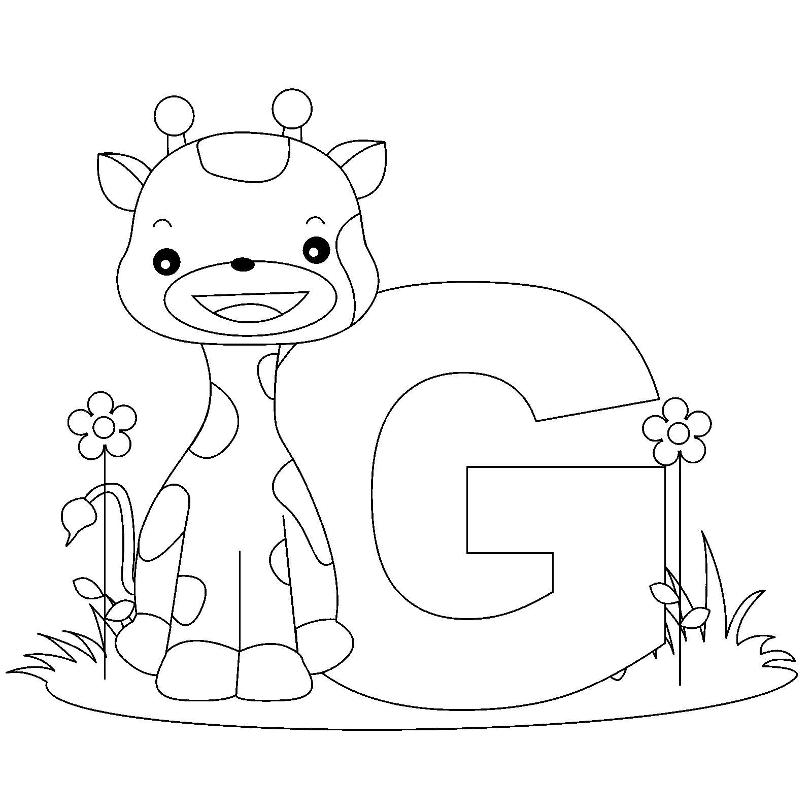 1600x1600 Abc Farm Animal Coloring Pages Letter L Coloring Pages
