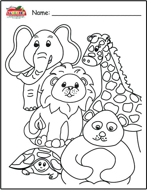 495x640 Alphabet Animals Free Coloring Abc Animal Coloring Pages