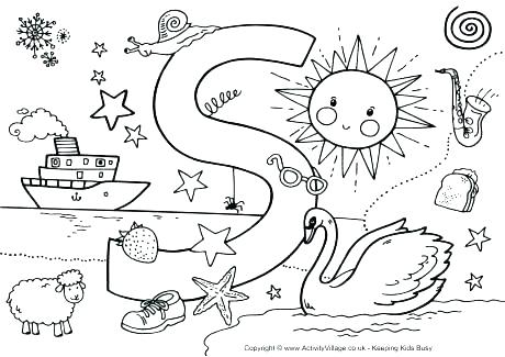 460x325 Alphabet Coloring Pages Printables Animal Alphabet Coloring Pages