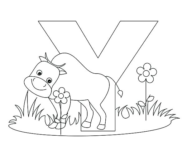 600x467 Coloring Pages Alphabet Animal Coloring Pages Item Abc Coloring