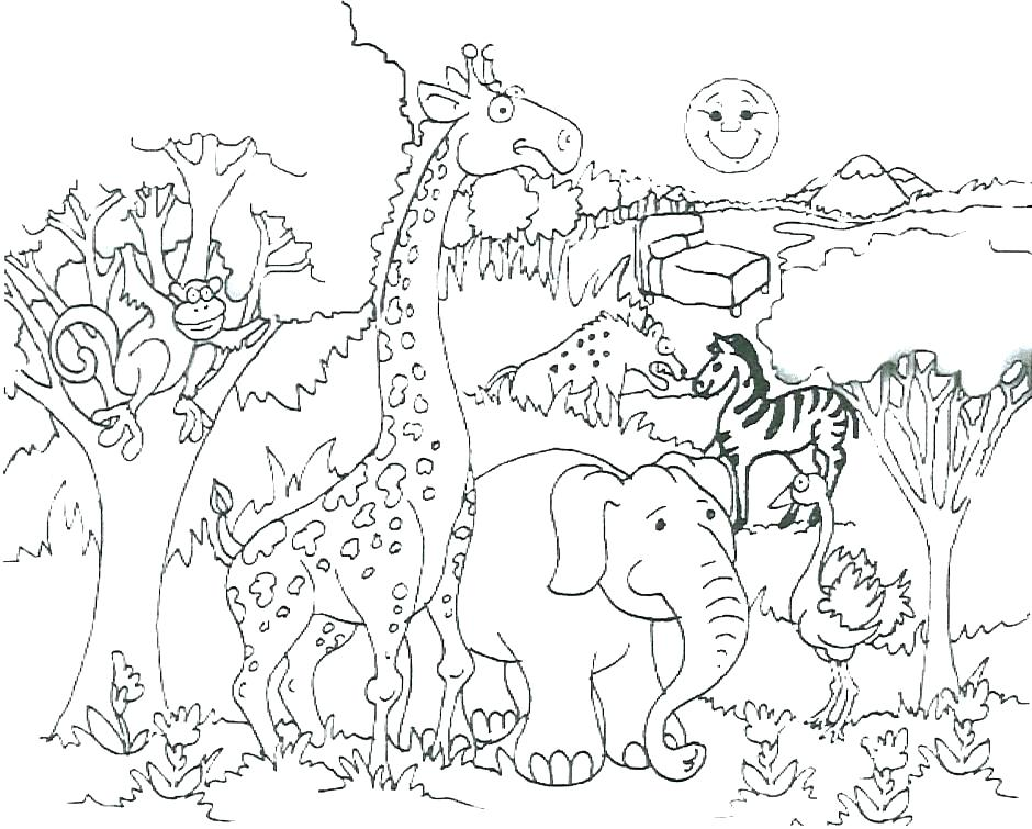 940x755 Surprising Tracing Coloring Pages