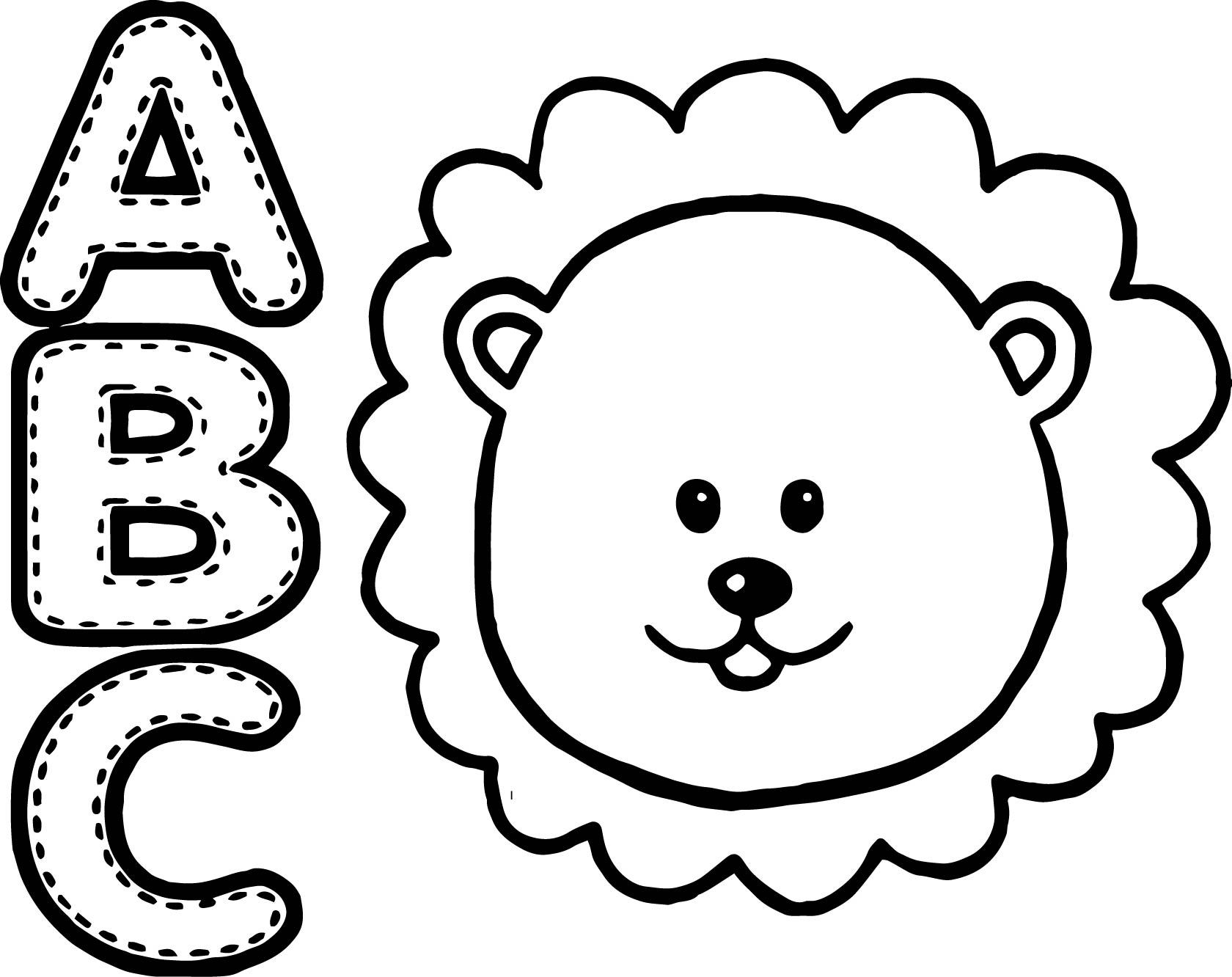 1680x1332 Abc Animal Coloring Pages