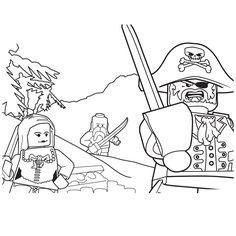 236x236 Lego A B C Blocks Coloring Page