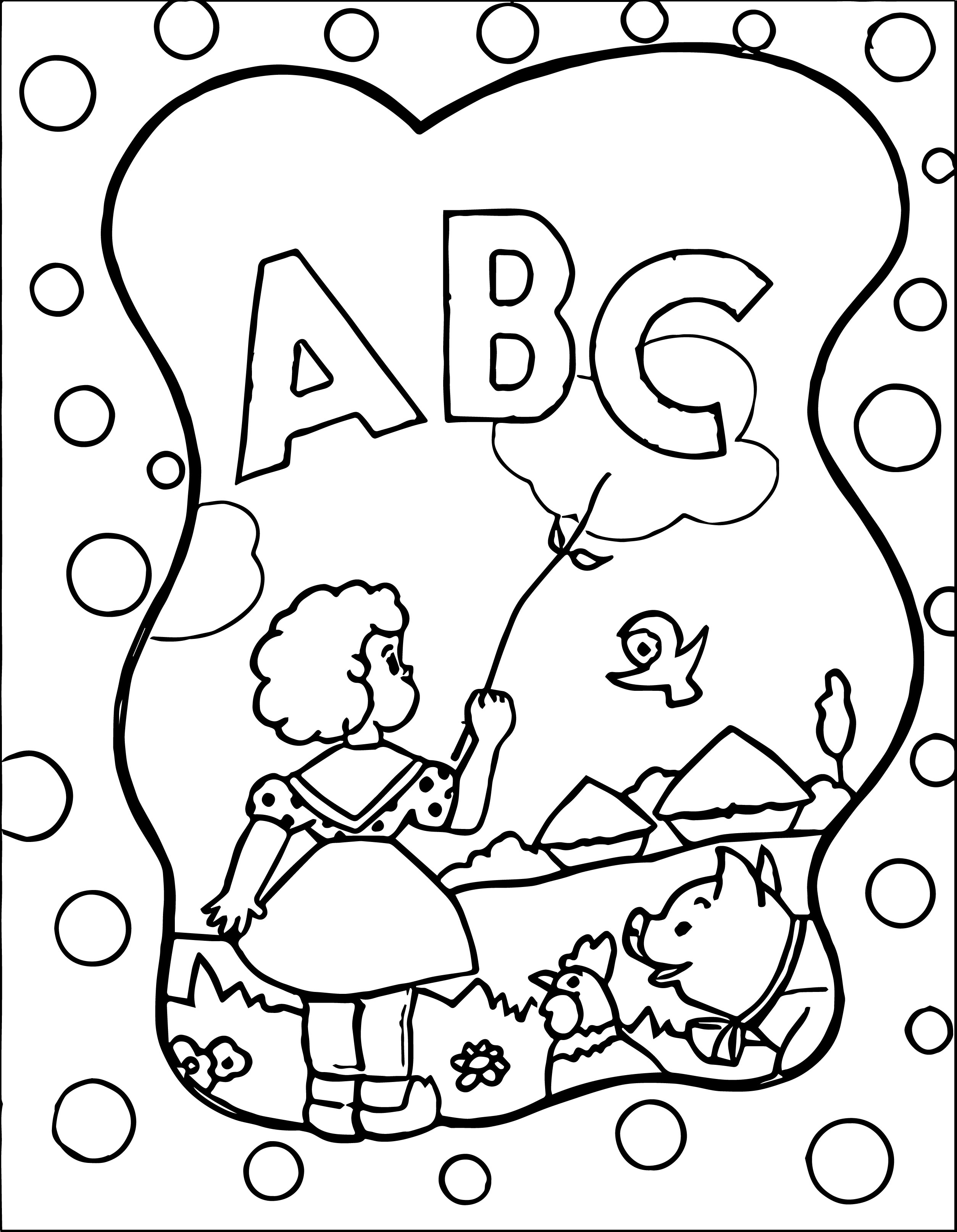 2507x3228 Abc And Book Coloring Page Back To School Pages Blocks Educations