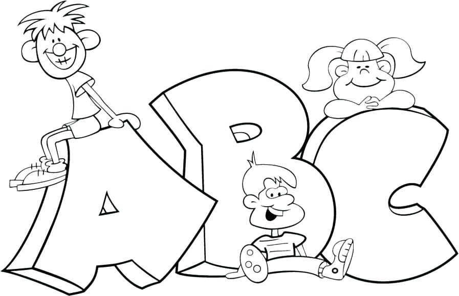 897x580 Abc Blocks Coloring Pages Coloring Pages