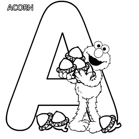 550x550 Coloring Pages Abc Blocks