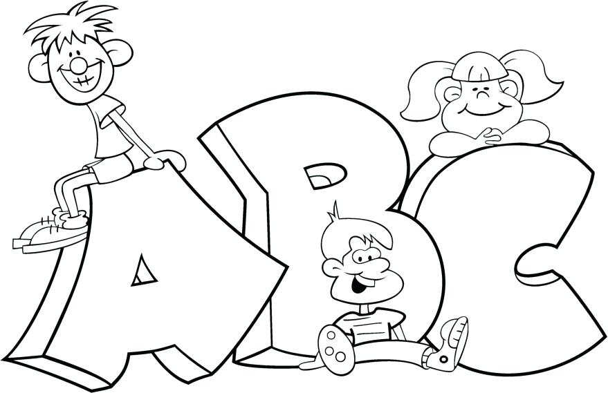879x569 Abc Printable Coloring Pages Pictures To Color Coloring Pages Free