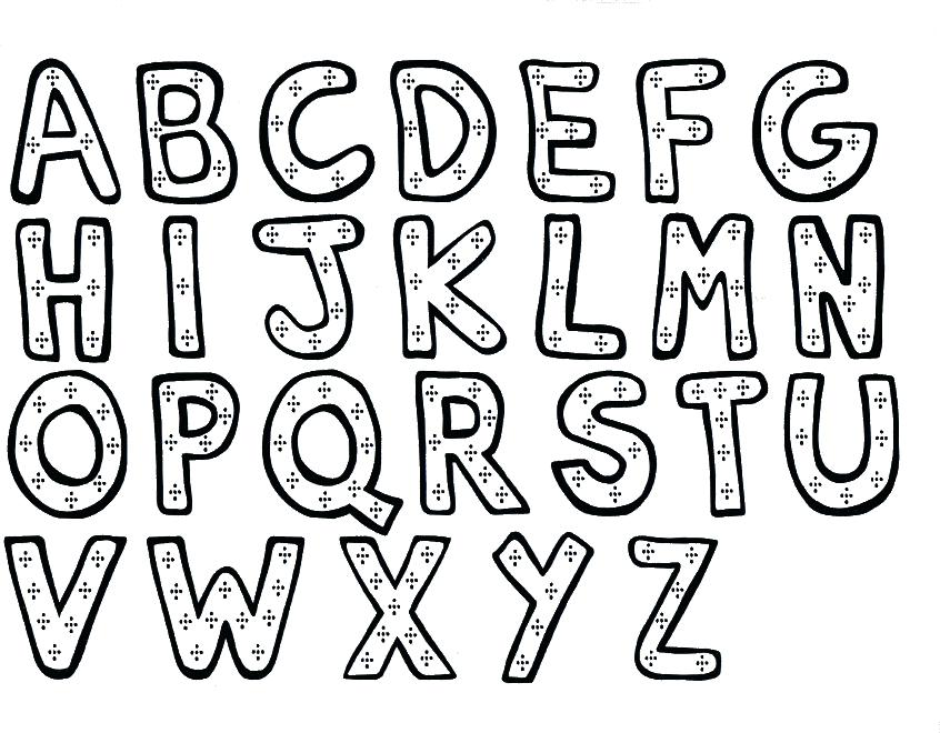 846x660 Coloring Pages Abc's Print