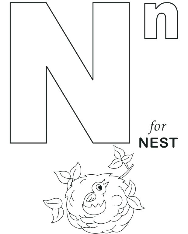 618x769 Printable Letter Coloring Pages Colouring Sheet Letter