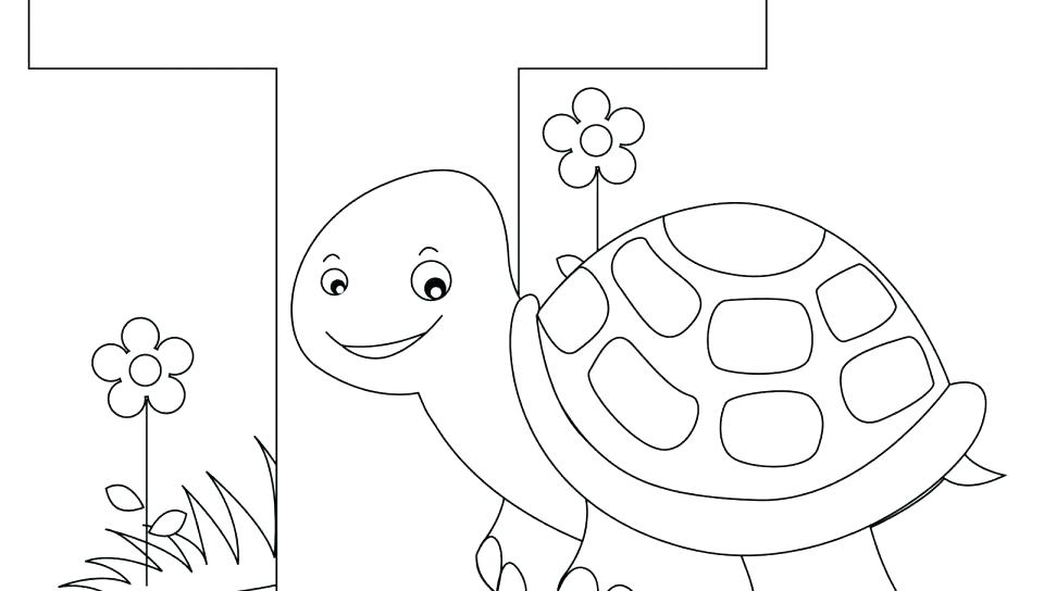 960x544 Abc Coloring Pages For Preschoolers